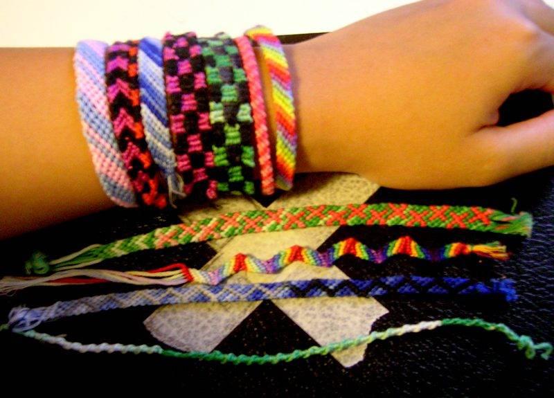 Браслеты дружбы (плетение)