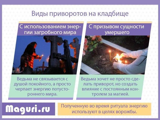 ᐉ через сколько времени действует кладбищенский приворот - magicastrolog.ru