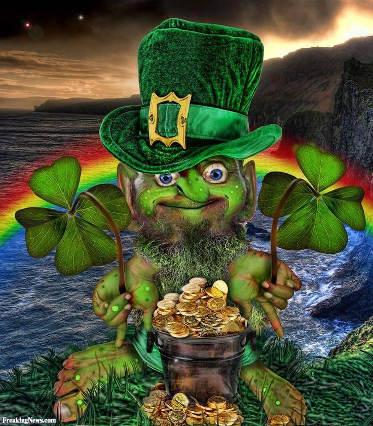 Ирландский праздник день святого патрика - отукотук