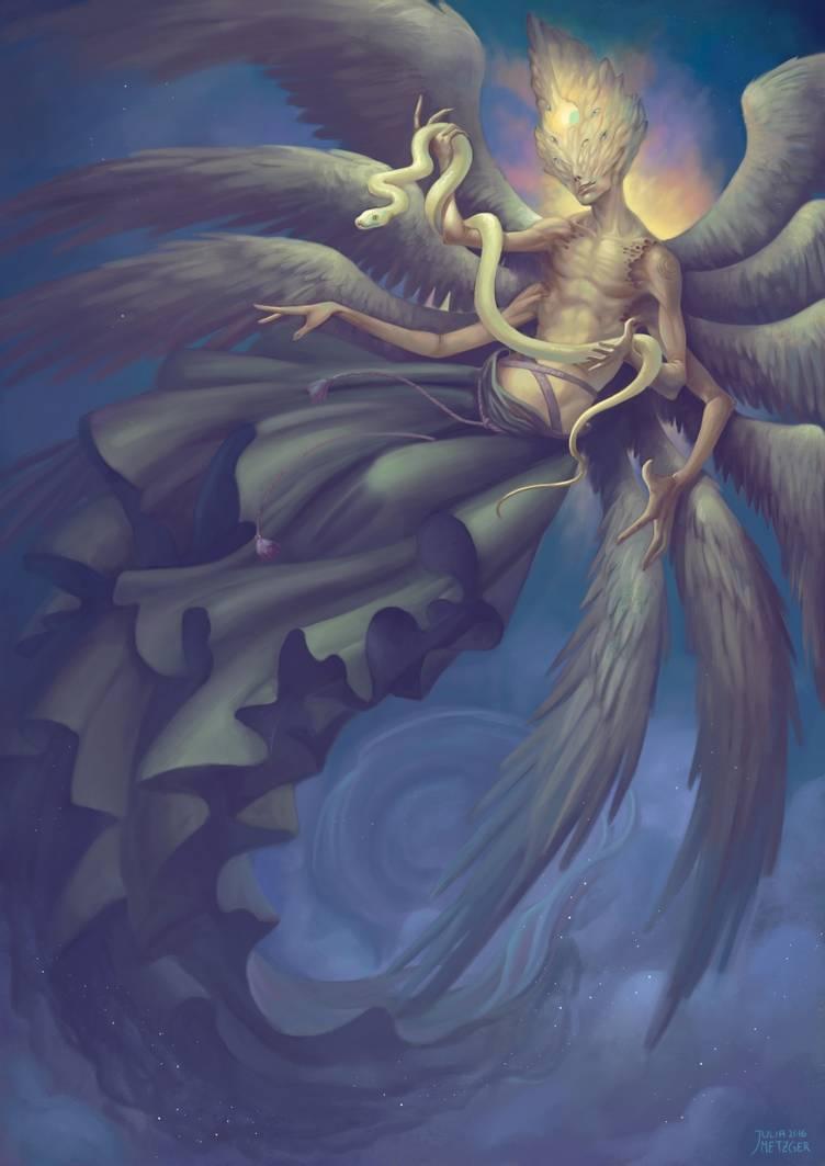 Самаэль - ангел смерти и владыка ада