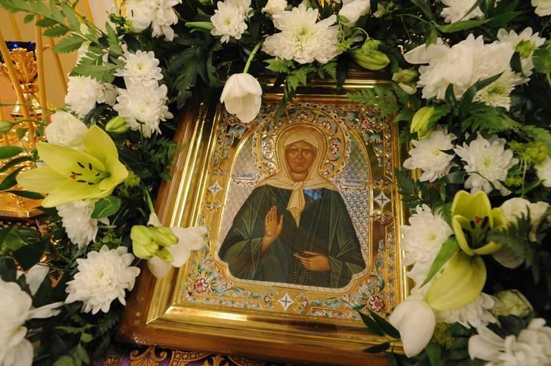 Свидетельства о чудесах святой блаженной матроны московской в наши дни