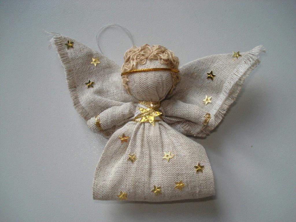 Кукла ангел своими руками, из ткани, фетра, фото, идеи, видео