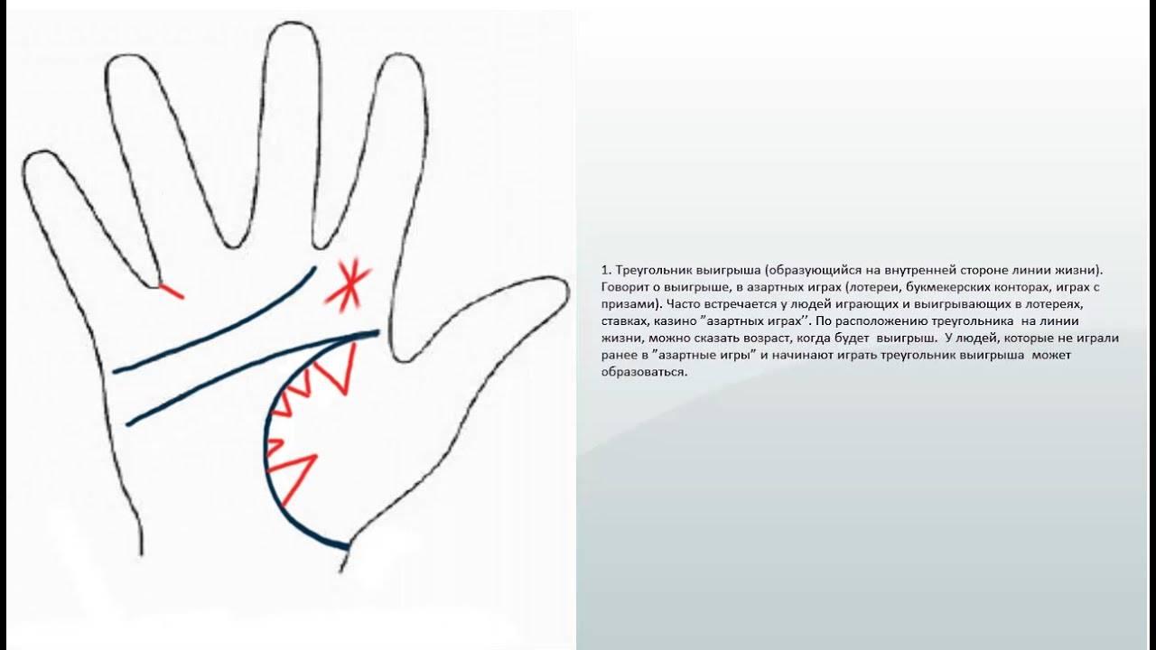 Денежные знаки на руке: линии, которые отвечают за богатство в хиромантии