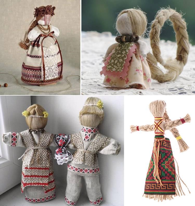 Кукла из ниток: как сделать традиционный оберег