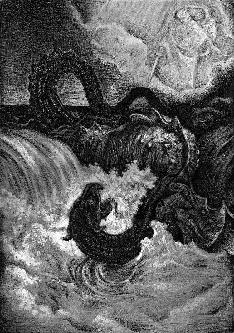 Левиафан — чудовище, демон или божественное творение. левиафан, извивающийся зверь, leviathan: бестиарий: мифологическая энциклопедия
