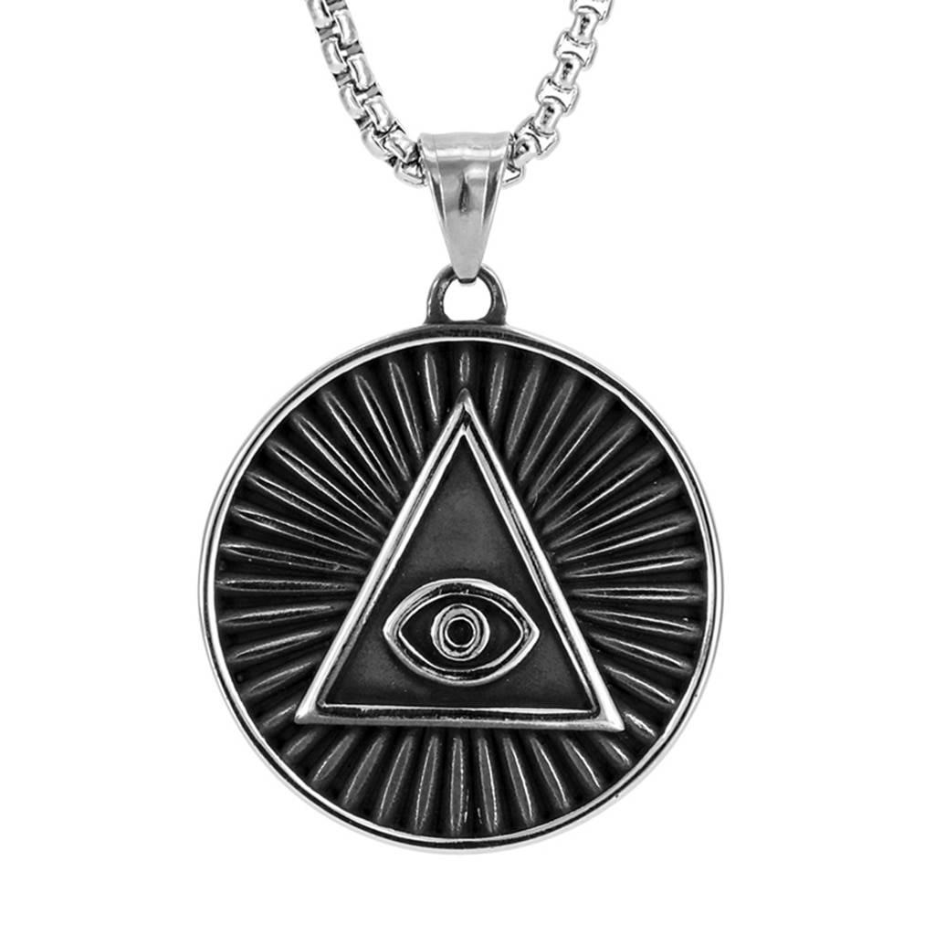 Всевидящее око, глаз гора или глаз в треугольнике: значение символа