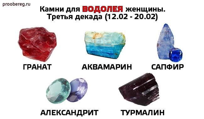 Красный гранат для женщины водолея и и другие обереги