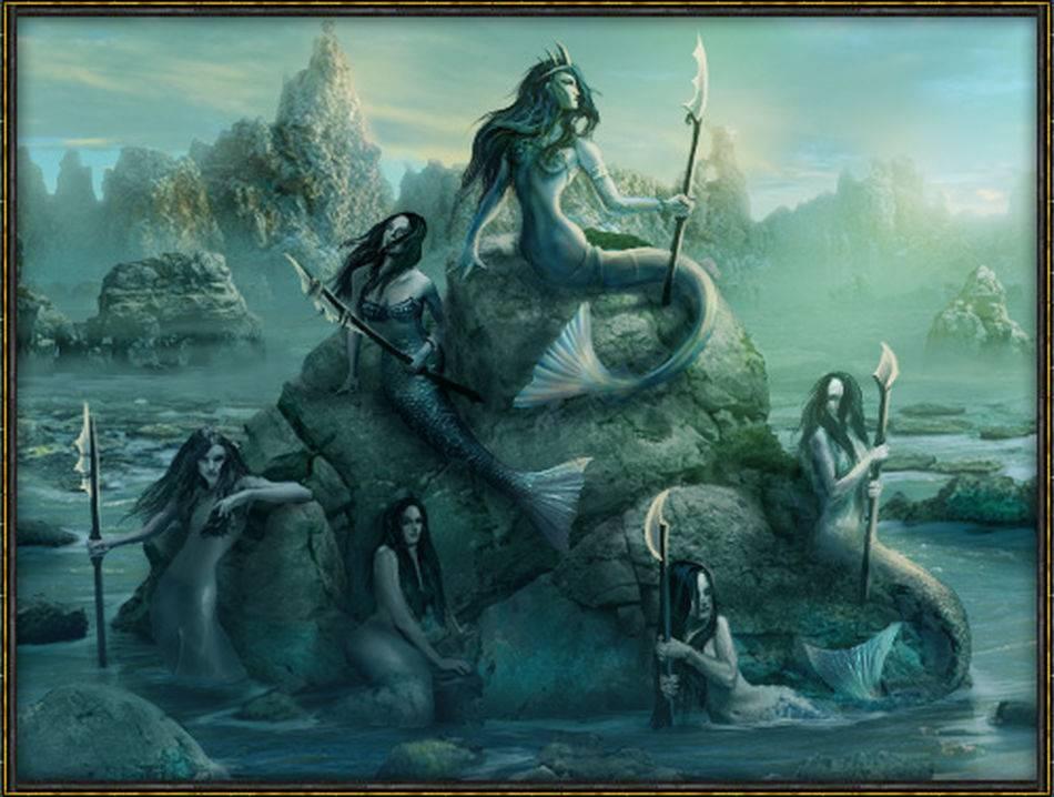 Морские чудовища - мифология  | знаки и символы
