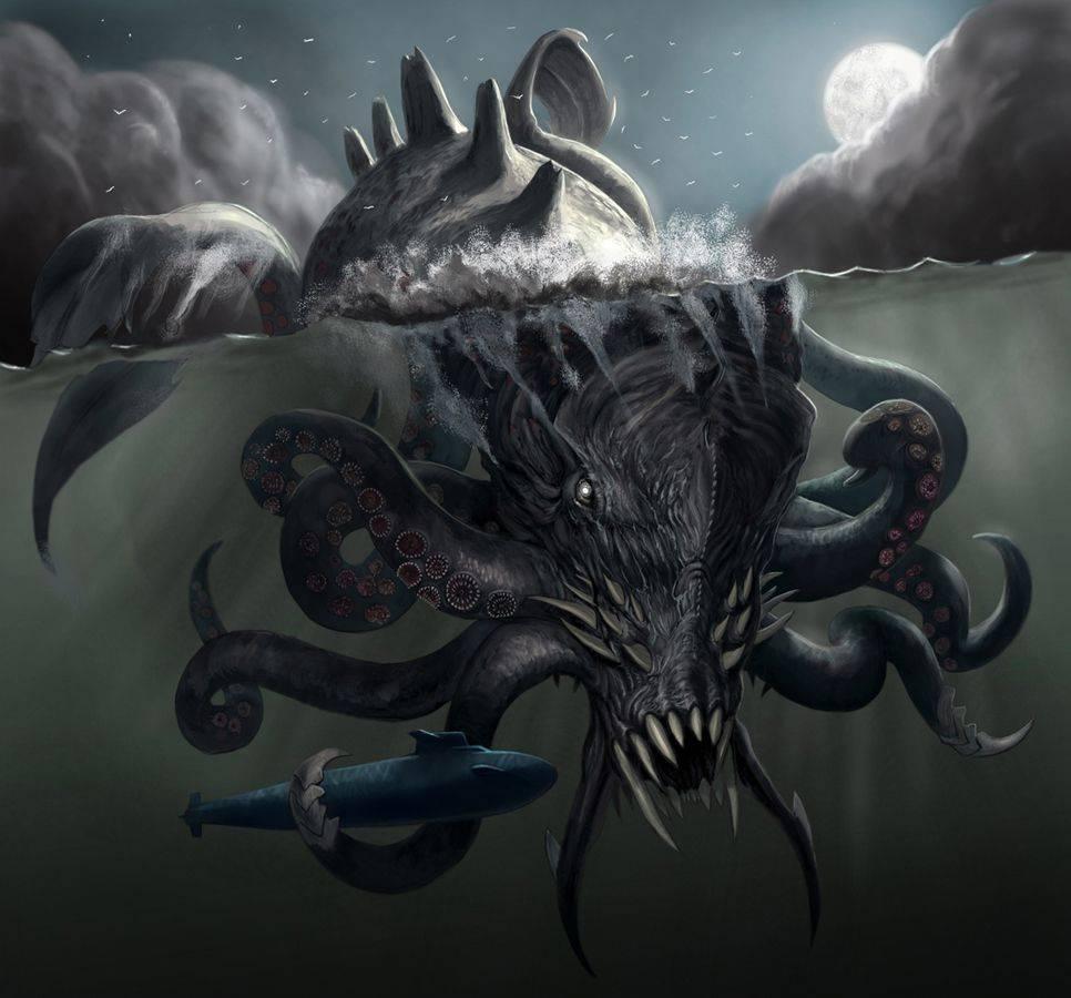 Есть ли кракен. кракен — легендарное чудовище из морских глубин