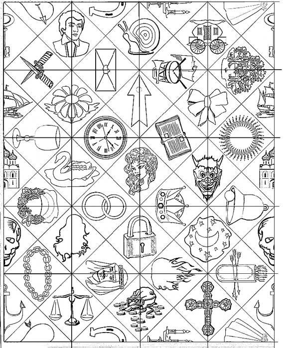 Гадание на индийских картах на будущее, на любовь, значение символов индийского пасьянса