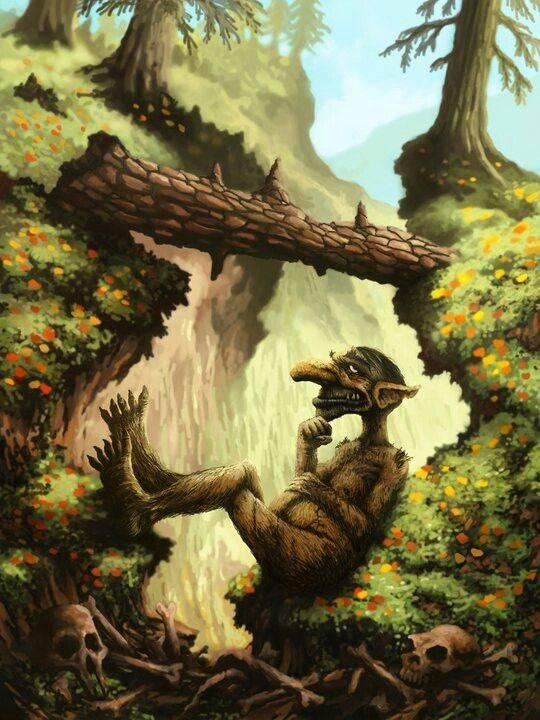 Лесные монстры и баффы (руководство по лесу)