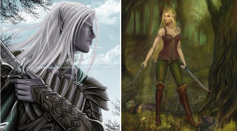 Эльфы, в мифологии