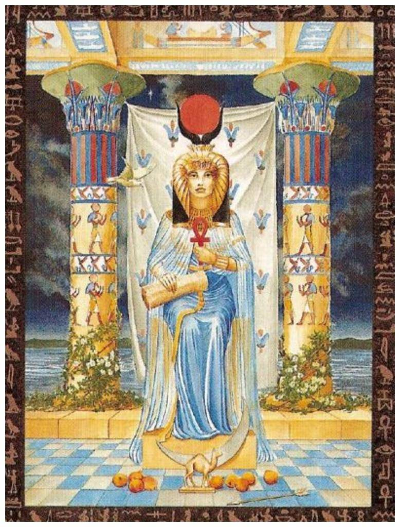 Жрица таро: значение карты папесса (монахиня), сочетание с другими арканами