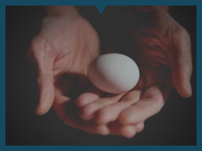 Гадание на яйце: толкование и расшифровка. гадание на яйце — история, способы и толкование