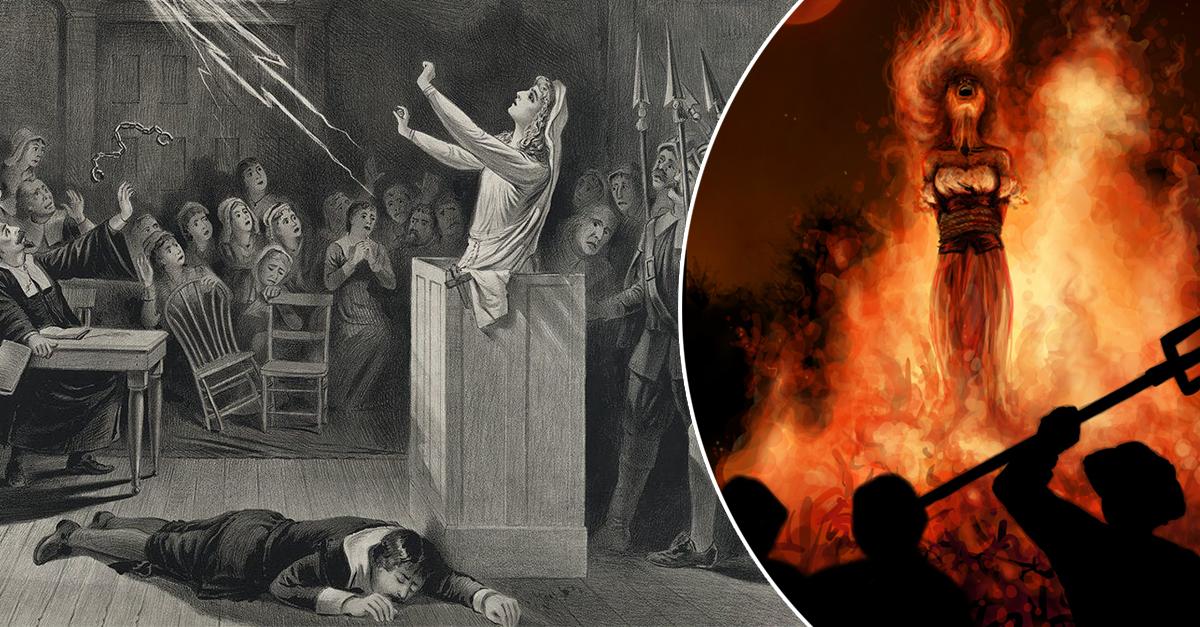 Почему сжигали ведьм: исторические параллели | potu-storony.ru