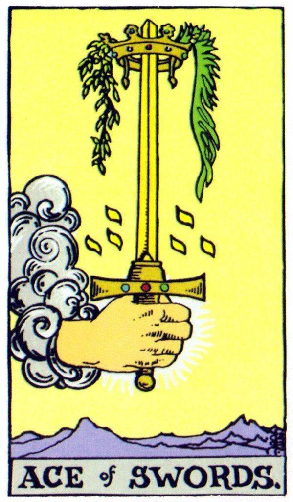 Туз мечей таро 78 дверей: значение и толкование карты