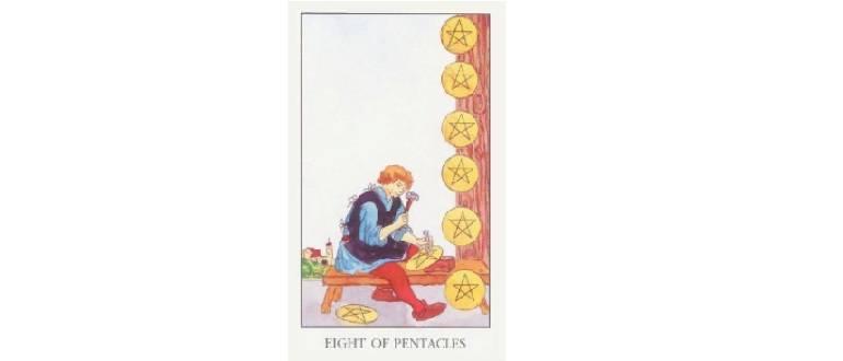 Рыцарь пентаклей - значение карты таро