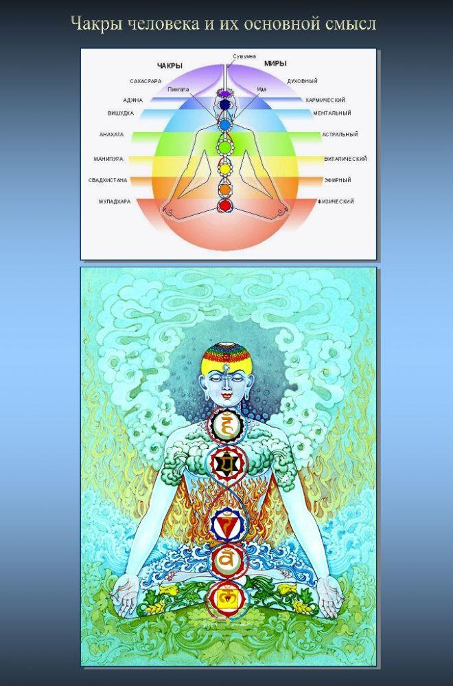 Чакры — за что отвечают, расположение в теле, цвета, открытие