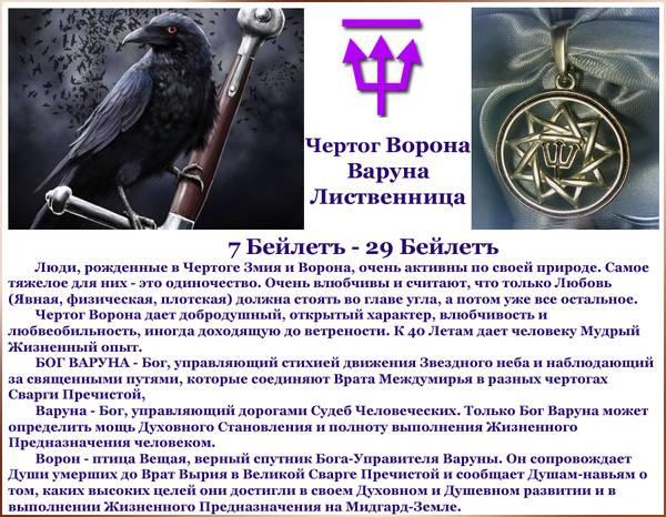 Значение и описание чертога вепря, его покровители и характерные черты для мужчины и женщины