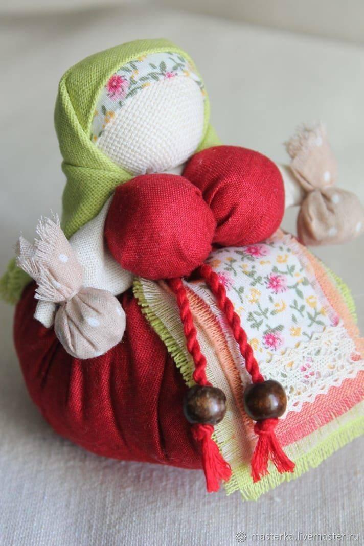 Кукла травница-кубышка: защитница здоровья и хорошего сна
