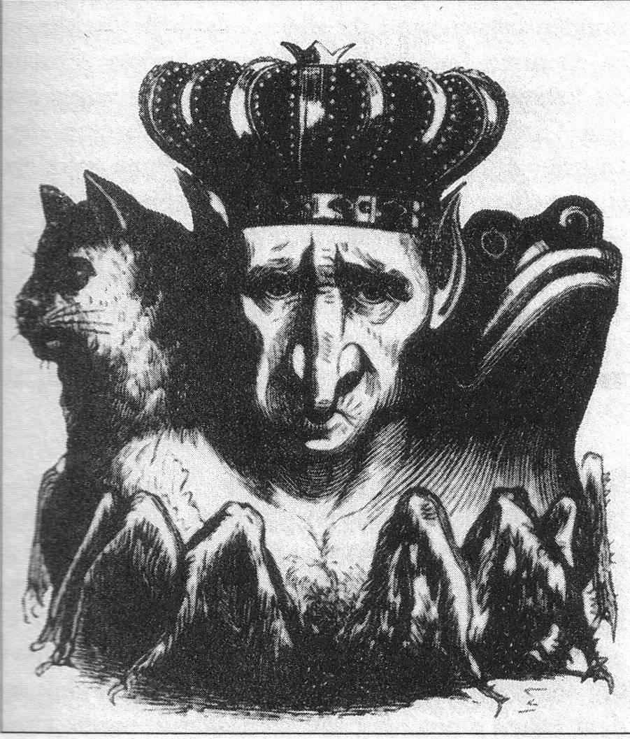Как выглядит демон баал? другие имена баала, связанные с ним божества и исторические личности