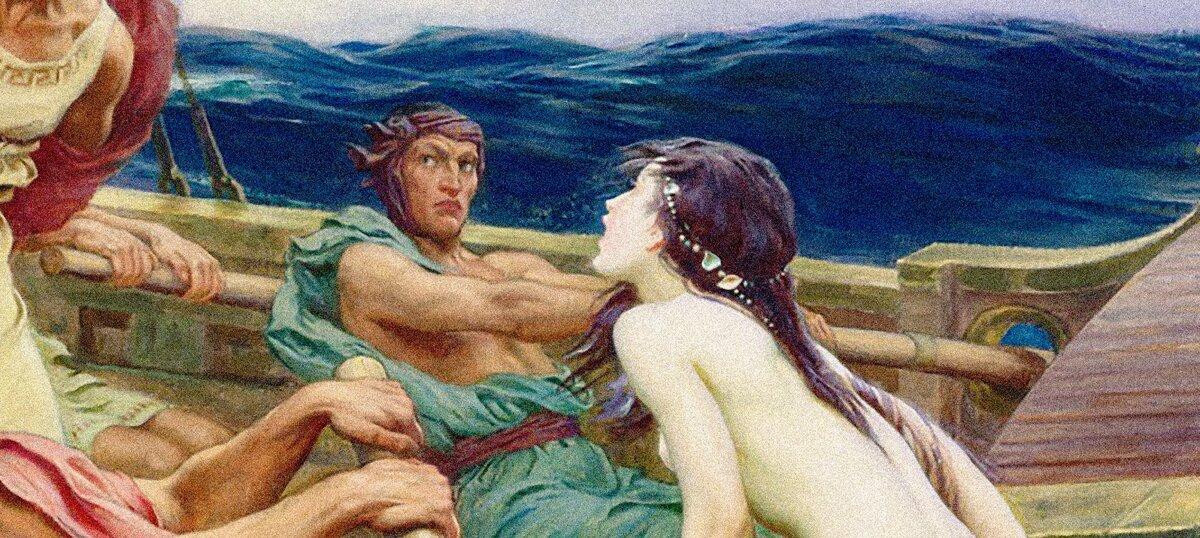 Опасные сирены. мифология древних греков