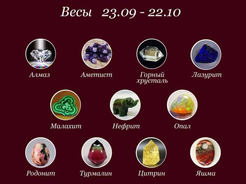 Камень весов: по знаку зодиака, для женщин по дате рождения и году, как выбрать оберег по гороскопу и какой подходит