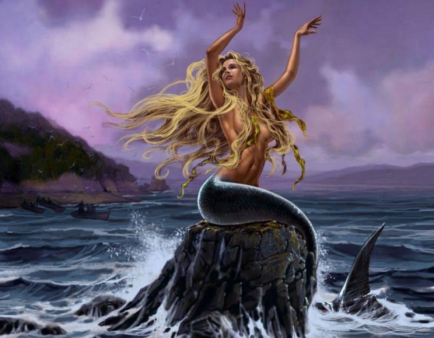 Что за сирена была. сирены — губительницы моряков из древнегреческих легенд. родословная поющих существ