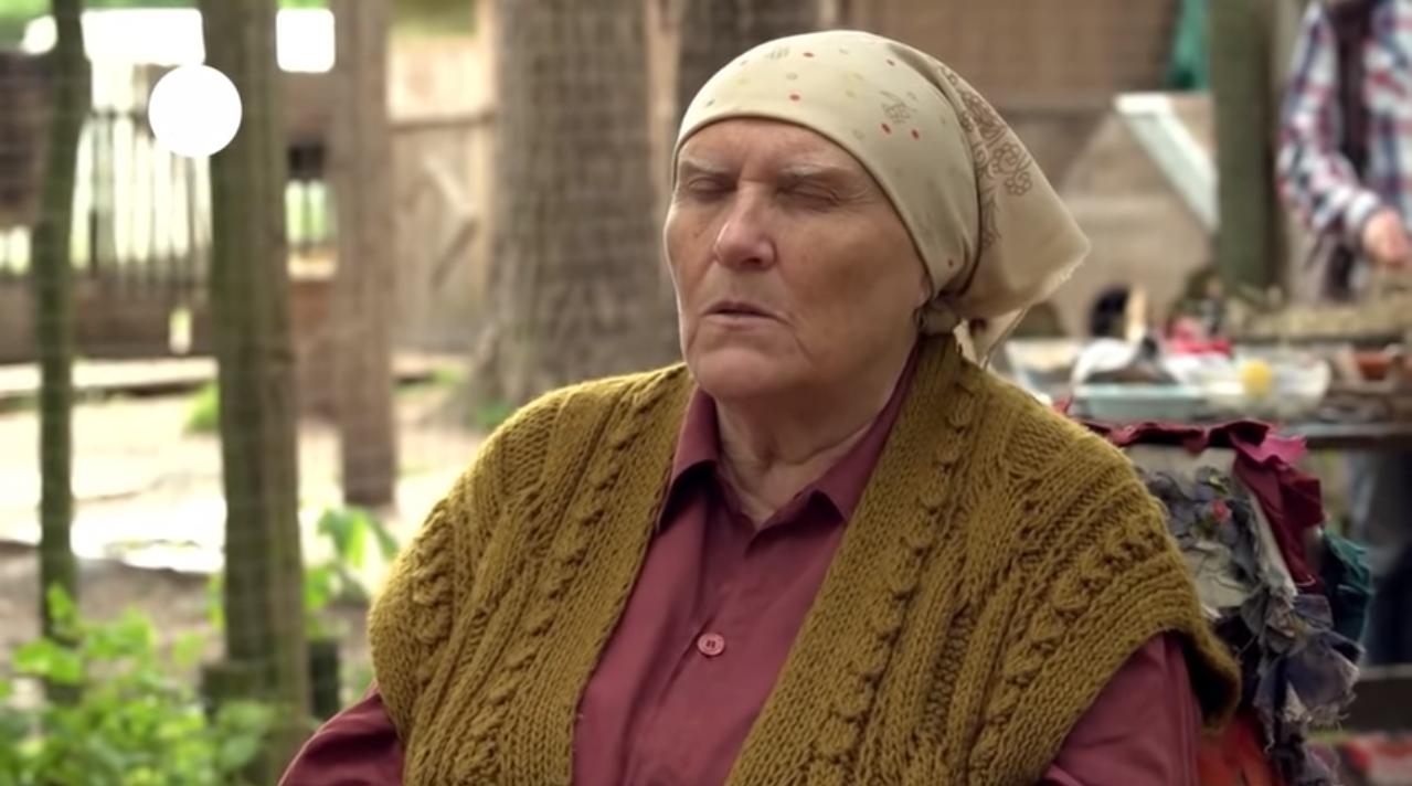 Настоящая баба нина или нет — имя актрисы сыгравшей слепую ведунью