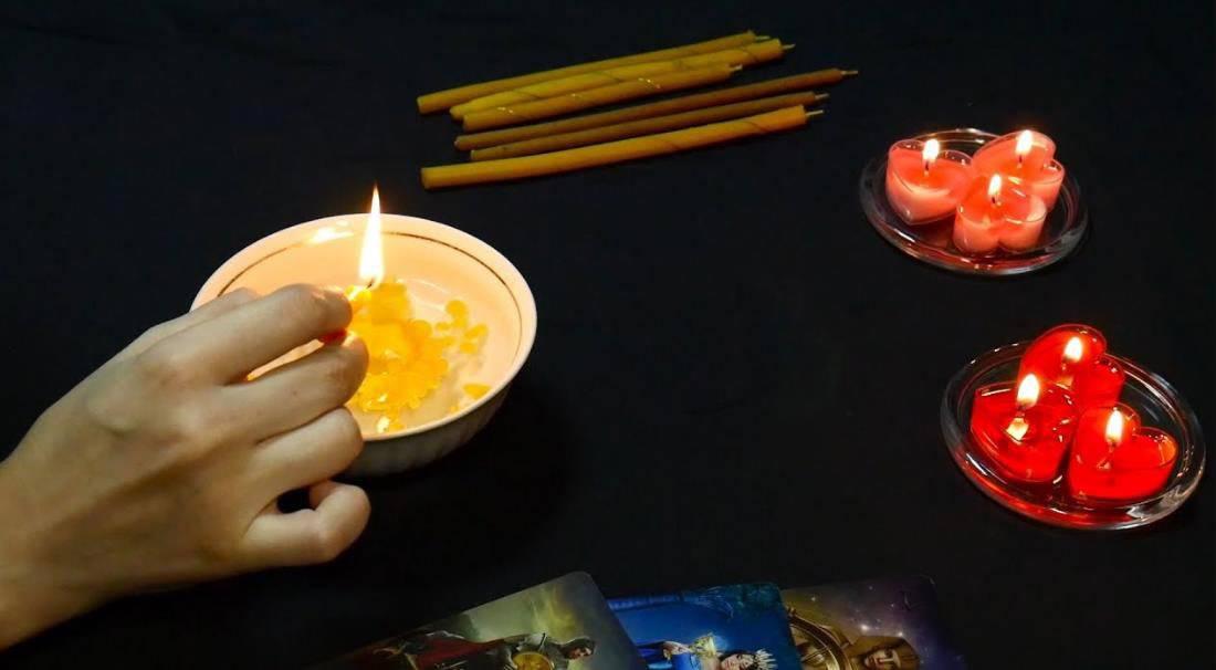 Гадание на свечах—секреты будущего