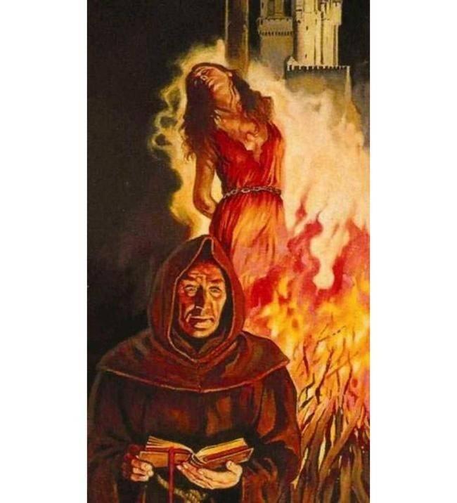 Как ведьм сжигали на костре: лучше этого не видеть