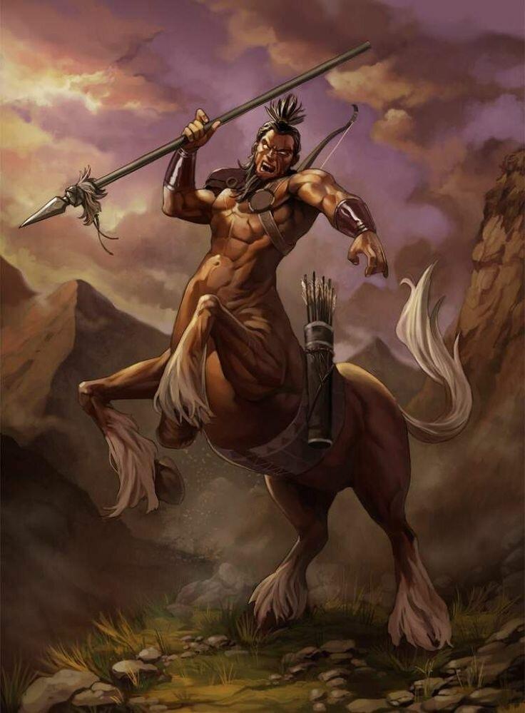 Кентавры в греческой мифологии - полукони или полулюди
