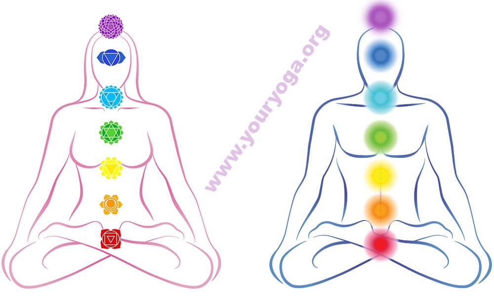 Какие чакры есть у человека, их расположение, цвета и значение
