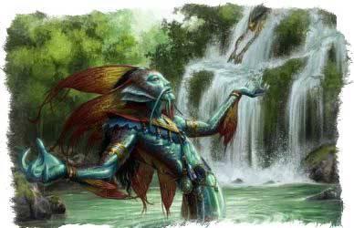 Никсы — духи воды из европейского фольклора