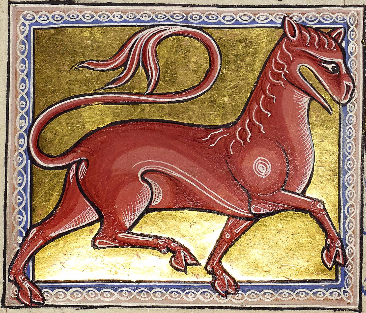 Левкрота — легендарное существо из средневековых бестиариев