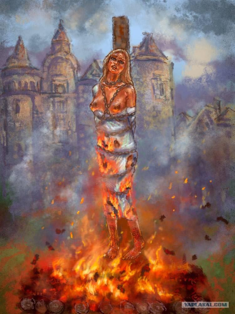 Как правильно сжечь ведьму