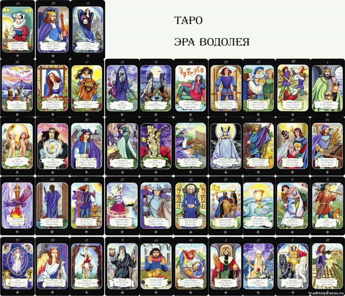 Таро папюса - галерея, значение карт и особенности раскладов
