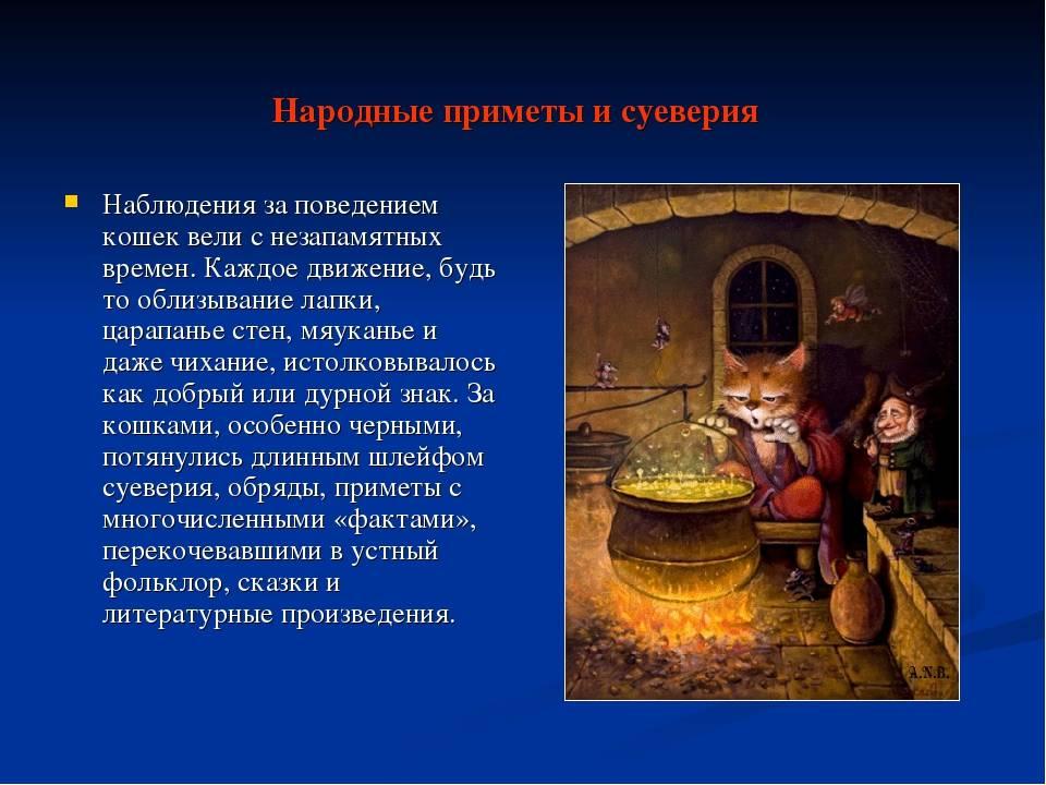 Приметы и суеверия кладезь знаний обо всм