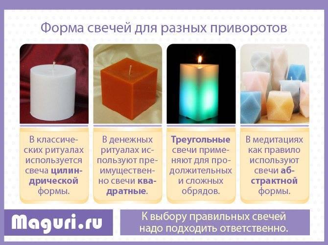 Приворот на две свечи последствия
