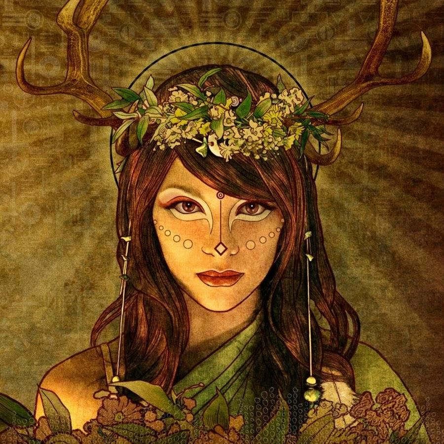 Старуха кайлех-богиня жизни и смерти — темний ліс