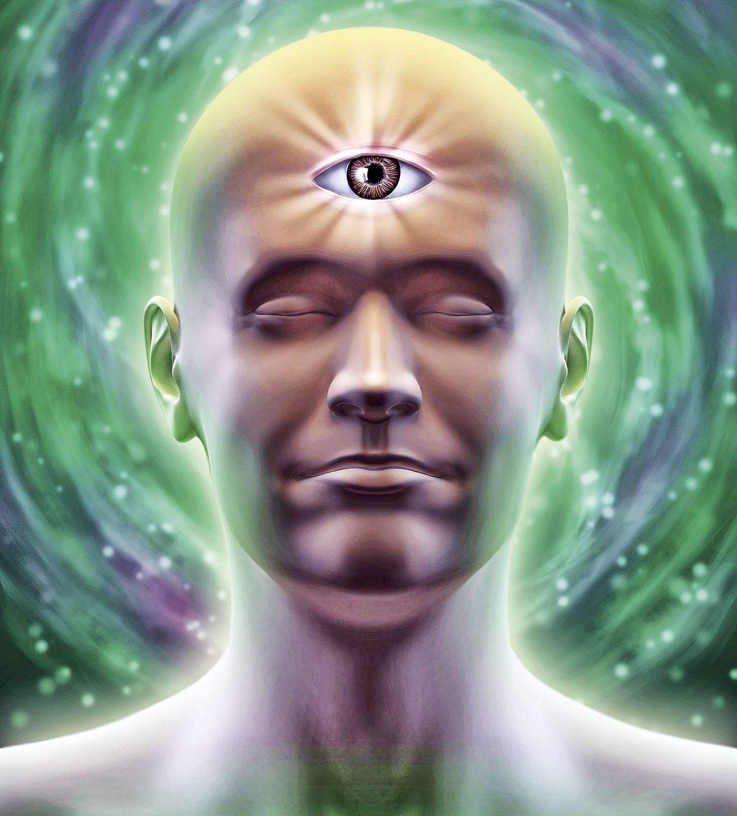 Третий глаз — картинки для тренировки третьего глаза