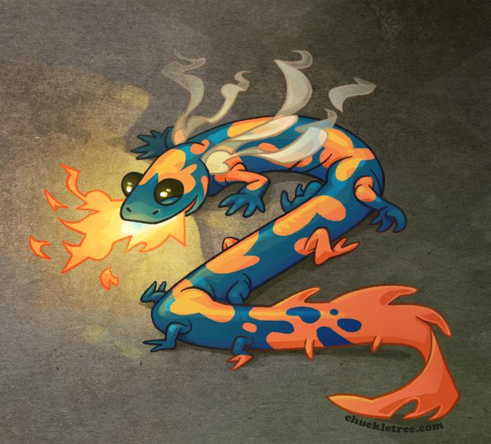 Огненная саламандра » страшные истории