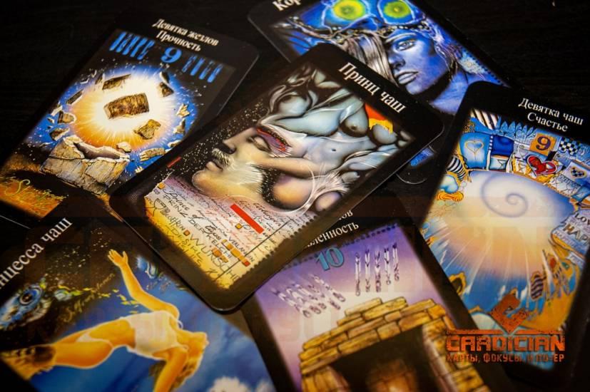 Обзор колоды таро белой и чёрной магии: история создания, значение карт, символы