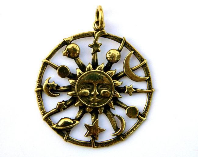 Амулет солнца ? значение славянского талисмана