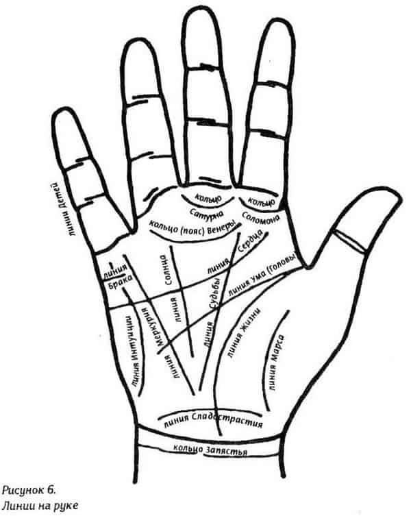 Как самостоятельно научиться читать линии по руке в домашних условиях
