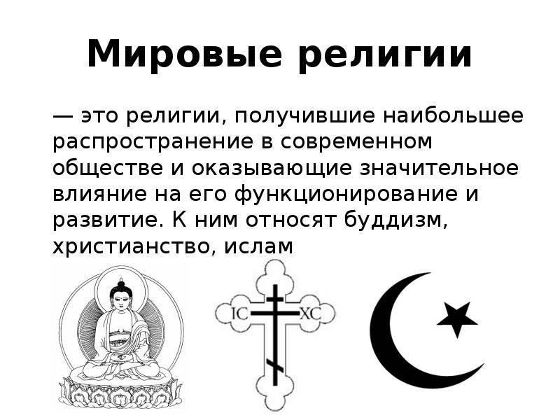 Религии откровения: авраамические и дхармические религии