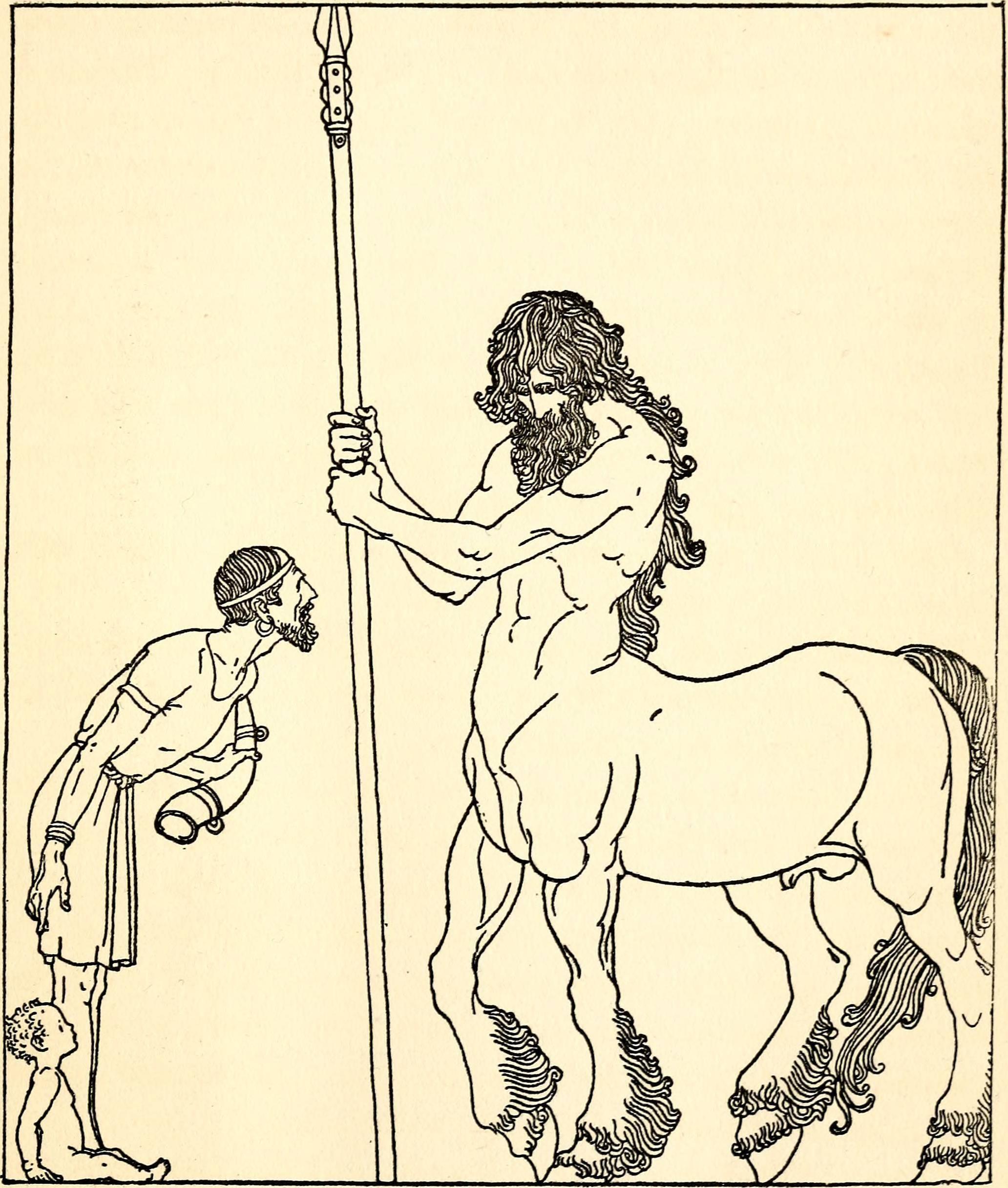 Древнегреческие мифические существа » страшные истории || арейон быстроногий говорящий конь из мифов древней греции