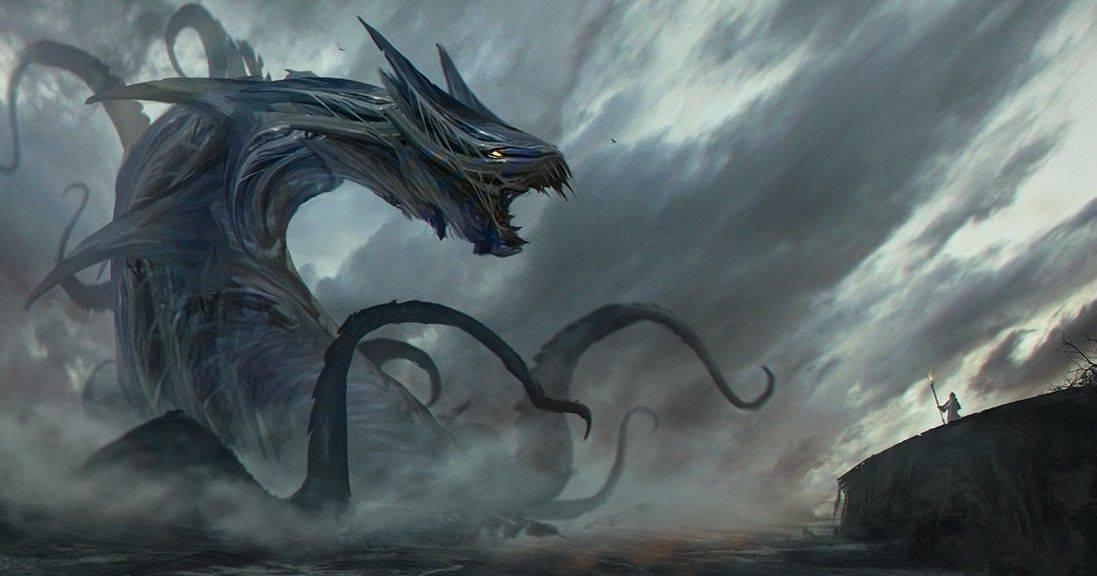 Чудовище и демон левиафан - кто он, как выглядит и на что способен