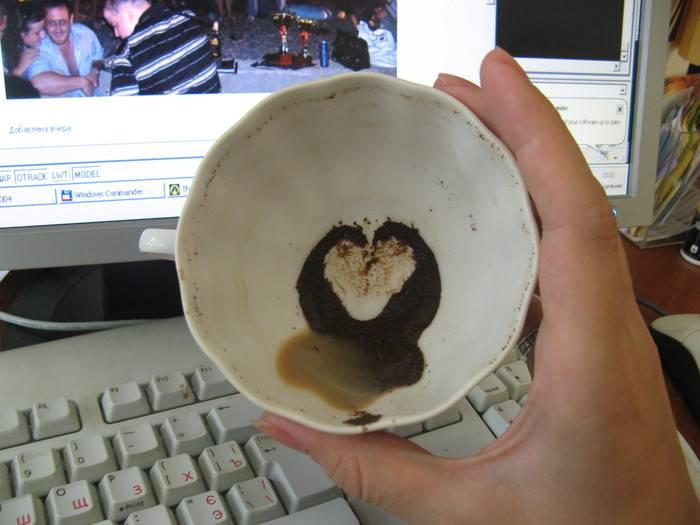Гадание на кофе: сердечко (сердце) — толкование символа