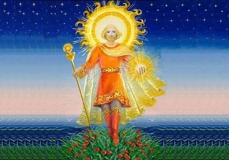 Ярило — бог солнца  славянские боги-покровители